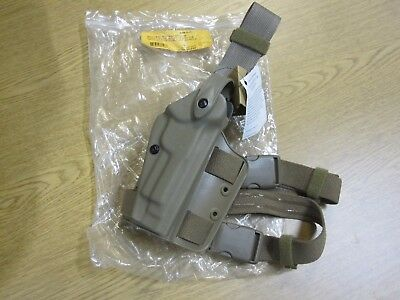 New Model 6004 SLS-STX Tactical Holster SafariLand Right Hand Drop Leg  DarkEarth 3af3fd81bcd2
