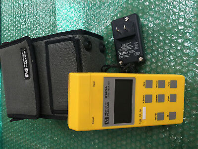 HP / Agilent 8140A, Loss Test Set / Power Meter w/ 81401A & 81412A Set with Case