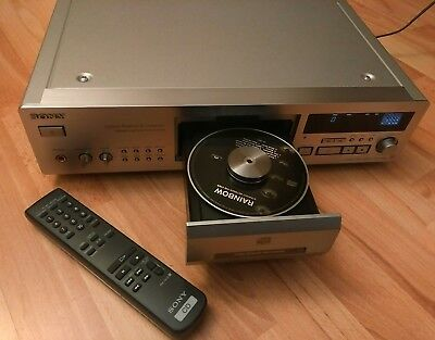 Sony CDP-XB920QS Silber High-End CD-Player *Fixed Pick-Up Mechanism*