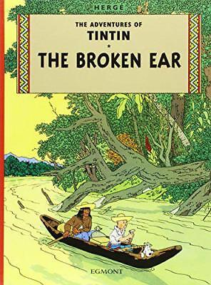 The Broken Ear (Adventures of Tintin) by Herge   Hardcover Book   9781405208055