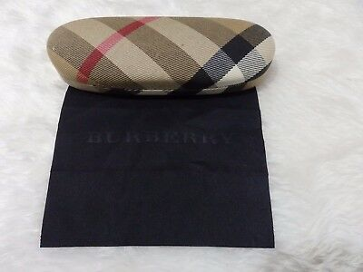 Used - Burberry patterned glasses case & cloth design 2- proceeds to charity