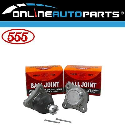 Set of 2 Upper Ball Joints to suit Mitsubishi Pajero NM NP NS NT 2000~2011 4X4
