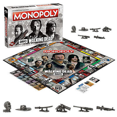 s Boardgames - Monopoly - The Walking Dead TV Series Version (official)