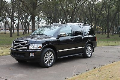 2010 Infiniti QX56 4WD One Owner Perfect Carfax TV/DVD Tech Pkg Michelin Tires MSRP New $62960