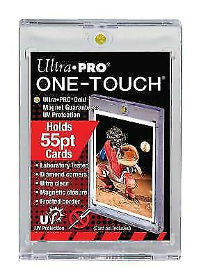 (25) Ultra Pro Magnetic One Touch 55pt Card Holders UV