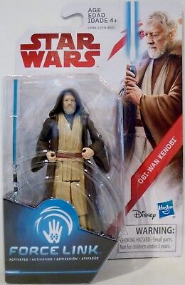 "OBI-WAN KENOBI Star Wars The Last Jedi Force Link 3.75"" Action Figure 2017"
