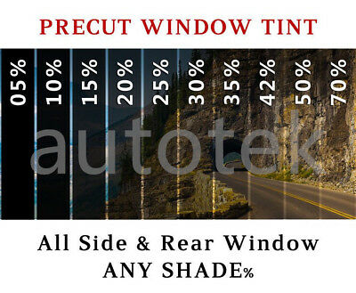 PreCut All Sides & Rear Window Film Any Tint Shade % for Ford Mustang Glass