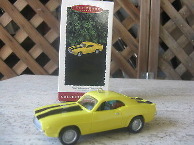 Hallmark Christmas Ornament  1969 Chevrolet Camaro  Collector 5th in Series NIB
