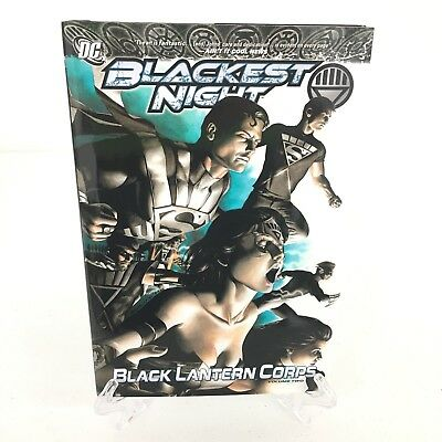 Blackest Night Black Lantern Corps Vol 2 DC Comics HC Hard Cover New Not Sealed
