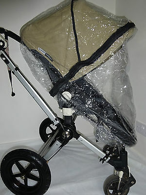 New RAINCOVER Zipped to fit Bugaboo Cameleon 3 Carrycot & Pushchair Seat Unit
