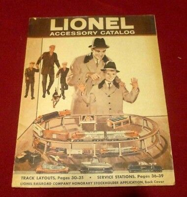 Lionel accessory catalog, 1960, 39 pages