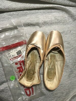 Freed London Pointe Ballet Shoes 5 1/2 DV R New Old Stock