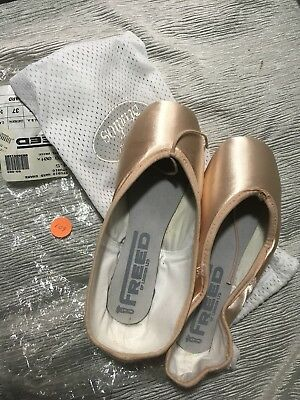 Freed Studios Pointe Ballet Shoes 4 1/2 E H New Old Stock