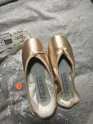 Freed Studios Pointe Ballet Shoes 3 E S New Old Stock