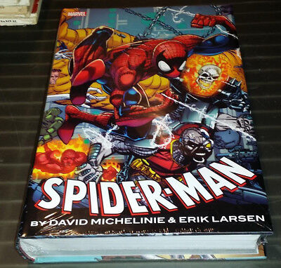 Spider Man Marvel Comics Omnibus Hardcover New Sealed Michelinie Larsen
