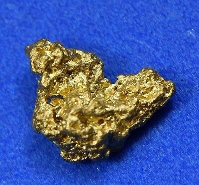 #789 Natural Gold Nugget Australian .67 Grams Genuine