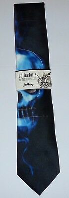 Jerry Garcia Plague Entity Neck Tie Necktie Skull Grateful Dead NWT