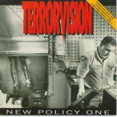 """TERRORVISION New Policy One 7"""" VINYL UK Total Vegas 1993 Limited Edition Cactus"""