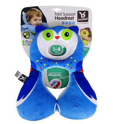 Baby Kid Child Stroller Car Seat Travel Positioner Head Neck Support Pillow OWL