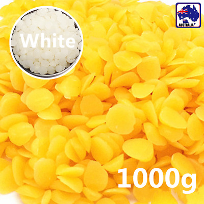 Yellow/White Inedible 30%Beeswax Drops Pastilles  Pellets Beads SBEA544