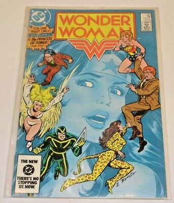 DC Wonder Woman Comic Book #323 1985 Near Mint Fine