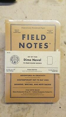SEALED Field Notes Dime Novel 2-Pack Notebooks from FNC-36