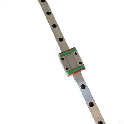 CNC part MR7 7mm linear rail guide MGN7 length 400mm with mini MGN7H Block