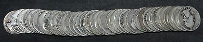 Roll of 40 Washington Quarters Assorted Dates 90% Silver