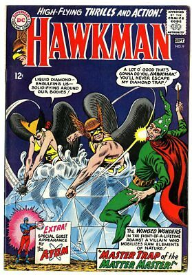 Hawkman #9 VF+ 8.5 off-white pages  DC  1965  No Reserve