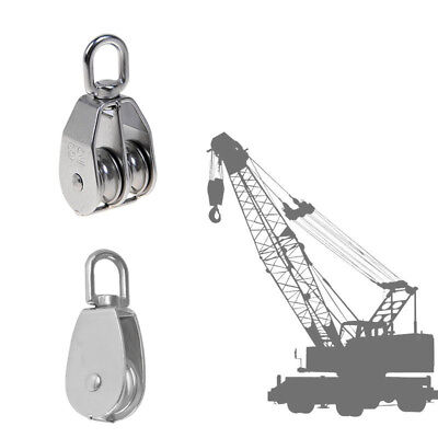 Swivel Double & Single Pulley Sheave Rigging Lift Rope Lifting Wheel M75