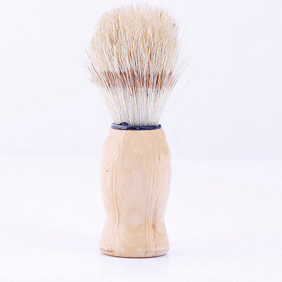 Shaving Brush Shave Barber Hard Wood Handle Salon Tool Soft Badger Hair