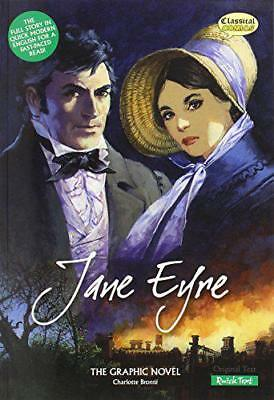 Jane Eyre The Graphic Novel: Quick Text (British English) by Charlotte Bronte  