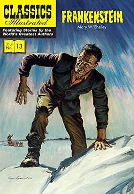 Frankenstein (Classics Illustrated) by Mary Wollstonecraft Shelley   Paperback B