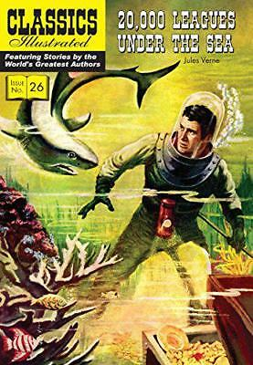 20,000 Leagues Under the Sea (Classics Illustrated) by Jules Verne   Paperback B