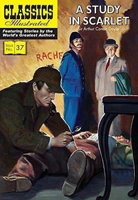 A Study in Scarlet (Classics Illustrated) by Sir Arthur Conan Doyle   Paperback