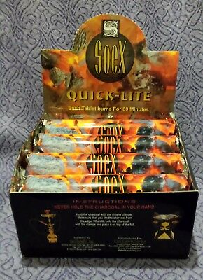 Soex Quick Lite Charcoal Roll of 10 tablets incense burning