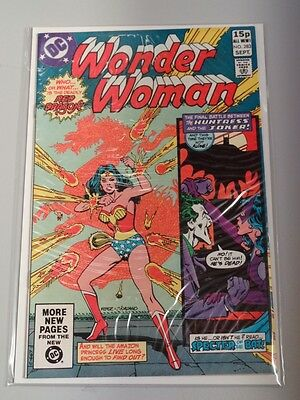 Wonder Woman #283 Dc Comics Joker September 1981