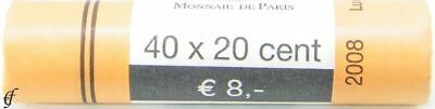 Luxemburg Rolle 20 Cent 2008