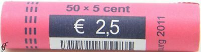 Luxemburg Rolle 5 Cent 2011
