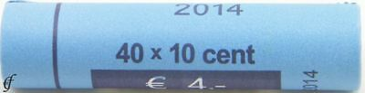 Luxemburg Rolle 10 Cent 2014