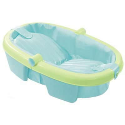 Summer Infant NEWBORN TO TODDLER FOLD AWAY BABY BATH Child Travel Tub BN