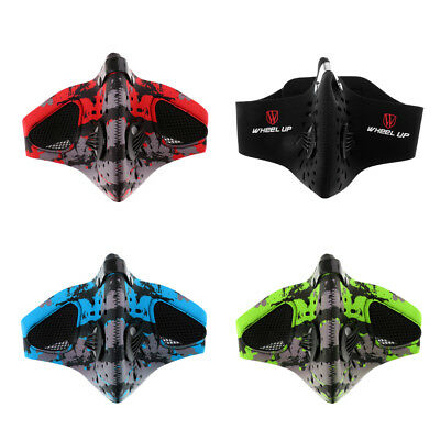 Anti Dust Motorcycle Bicycle Racing Cycling Bike Ski Half Face Mask Filter Cover
