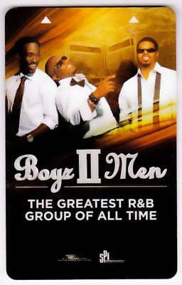 MIRAGE casino*BOYS TO MEN greatest r&b group*Las Vegas hotel key card*A #42