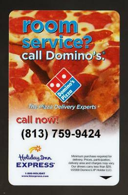 HOLIDAY INN EXPRESS**Dominos pizza**TAMPA FLORIDA**Pizza key card*A#8