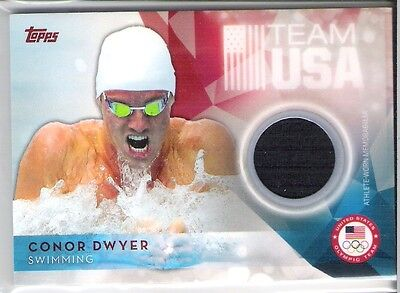 """TOPPS OLYMPIC TEAM """" CONOR DWYER """" Swimming"""