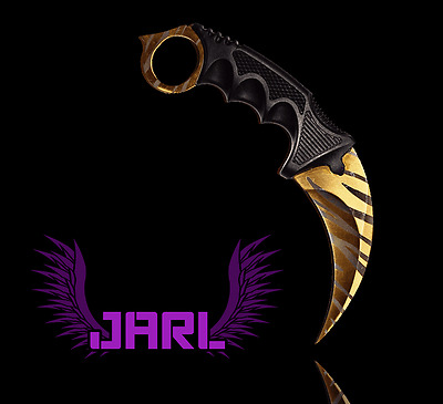 Couteau Karambit CS GO - Tiger - By JARL (CSGO KNIFE GAMING)