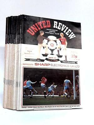 Manchester United Football Club Match Day P Manchester United Fo 1984 Book 26247