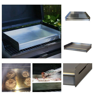Universal Griddle BBQ Grill Stainless Steel Omelet Pizza Pancake Cooking Outdoor