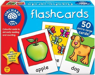 Orchard Toys Flashcards Baby/Toddler/Child Counting Reading Game Education -BN