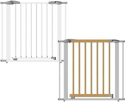 Clippasafe Extendable Swing Shut Gate Baby Child Toddler Stair Gate Safety -BN